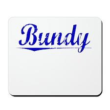 Bundy, Blue, Aged Mousepad