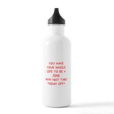 JERK.png Water Bottle