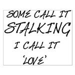 Stalking Small Poster