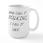 Stalking Large Mug