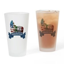 Italoamericano Rome Colosseum Drinking Glass