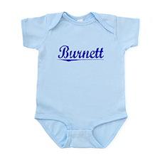 Burnett, Blue, Aged Infant Bodysuit