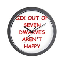 DWARVES.png Wall Clock