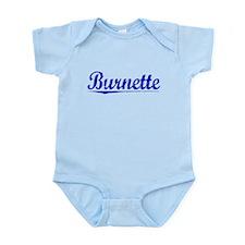 Burnette, Blue, Aged Infant Bodysuit