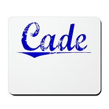 Cade, Blue, Aged Mousepad
