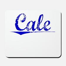 Cale, Blue, Aged Mousepad