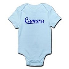 Camara, Blue, Aged Infant Bodysuit