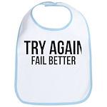 Try again fail better Bib