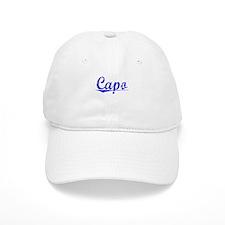 Baseball Capo, Blue, Aged Baseball Cap