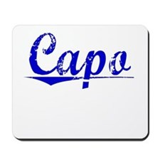 Capo, Blue, Aged Mousepad