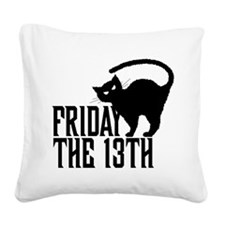 Friday the 13th Square Canvas Pillow