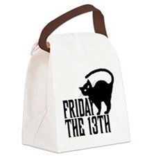 Friday the 13th Canvas Lunch Bag