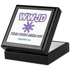 JCAHO WWJD Femme Keepsake Box