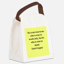 greg.png Canvas Lunch Bag