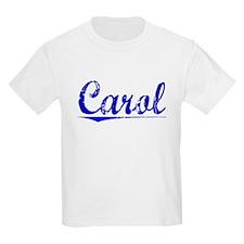 Carol, Blue, Aged T-Shirt