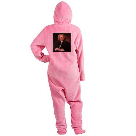 BACH.png Footed Pajamas