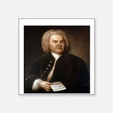 "BACH.png Square Sticker 3"" x 3"""