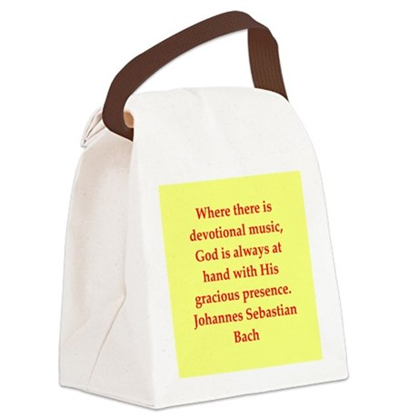 BACH7.png Canvas Lunch Bag