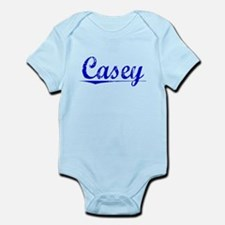 Casey, Blue, Aged Infant Bodysuit