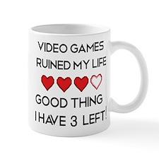 Video games ruined my life Small Mug