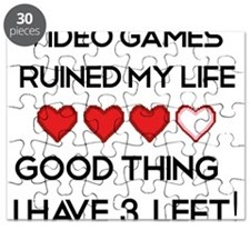 Video games ruined my life Puzzle