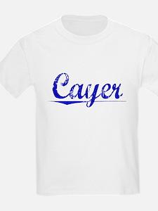 Cayer, Blue, Aged T-Shirt