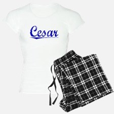 Cesar, Blue, Aged Pajamas