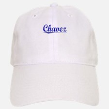 Chavez, Blue, Aged Baseball Baseball Cap