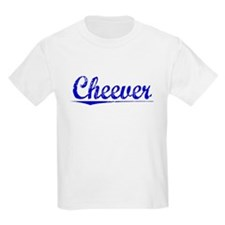 Cheever, Blue, Aged T-Shirt
