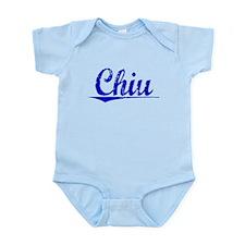 Chiu, Blue, Aged Infant Bodysuit