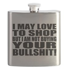 Not Buying your Bullshit Flask