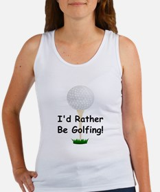 golfball large Id rather be golfing.png Women's Ta