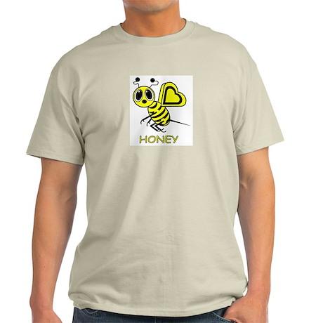 HONEY Ash Grey T-Shirt