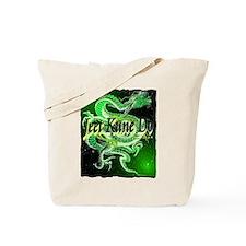 jeet kune do dragon illustration Tote Bag
