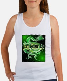 jeet kune do dragon illustration Women's Tank Top