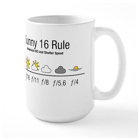 Sunny 16 Rule Large Mug