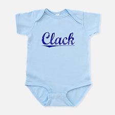 Clack, Blue, Aged Infant Bodysuit