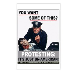 Stop Protesting Postcards (Package of 8)