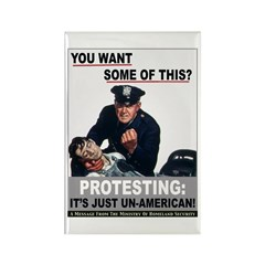 Stop Protesting Rectangle Magnet (10 pack)