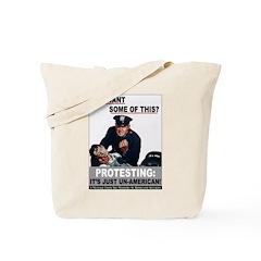 Stop Protesting Tote Bag
