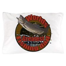 Greatest fishing dad 2 Pillow Case