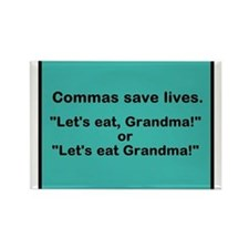 Commas Magnets