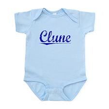 Clune, Blue, Aged Onesie