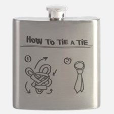 How to tie a tie Flask