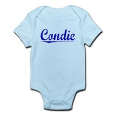 Condie, Blue, Aged Infant Bodysuit