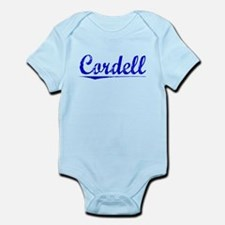 Cordell, Blue, Aged Infant Bodysuit