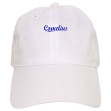 Cornelius, Blue, Aged Baseball Cap
