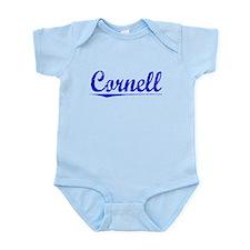 Cornell, Blue, Aged Infant Bodysuit