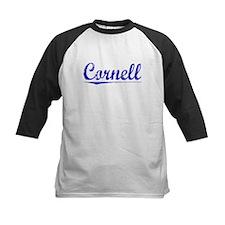 Cornell, Blue, Aged Tee