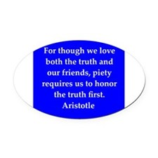 24.png Oval Car Magnet